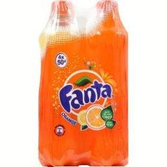 Fanta orange 4x50cl