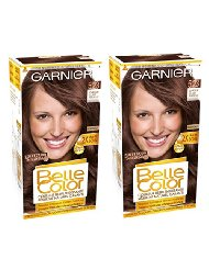 Garnier Belle Color Terre de Soleil 5.23 Coloration Permanente Châtain Claire - Lot de 2