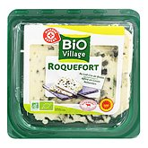 Fromage Roquefort Bio Village AOP 32%mg 100g