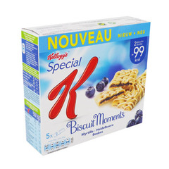 Biscuit Special K Moment myrtille 5x25g