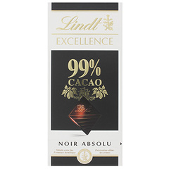 Lindt Excellence noirissime 99% cacao 50g
