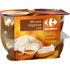 Mousse liegeoise cafe
