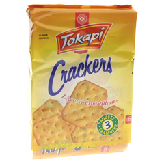 Biscuits Tokapi Crackers Nature 3x100g