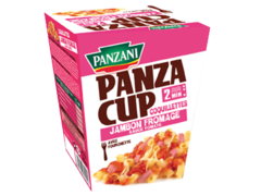 PANZA CUP COQUILLETTES JAMBON/FROMAGE PANZANI 270G