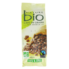 Cafe en grains bio