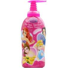 Bain creme et gel douche Princess Disney, flacon de 1l