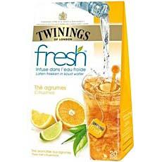 The Fresh agrumes TWININGS, 20 sachets, 40g