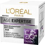 Soin redensifiant anti-rides jour 55 + âge expertise L'OREAL, pot 50ml