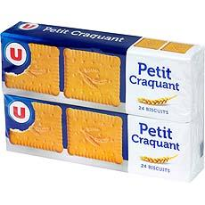 Biscuits craquants U, 2x150g
