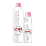 Lot de 2 brumisateurs EVIAN, 400ml + 150ml