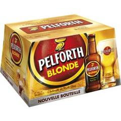 Biere blonde PELFORTH, 5,8°, 20x25cl