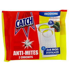Anti-mites Catch Crochet inodore