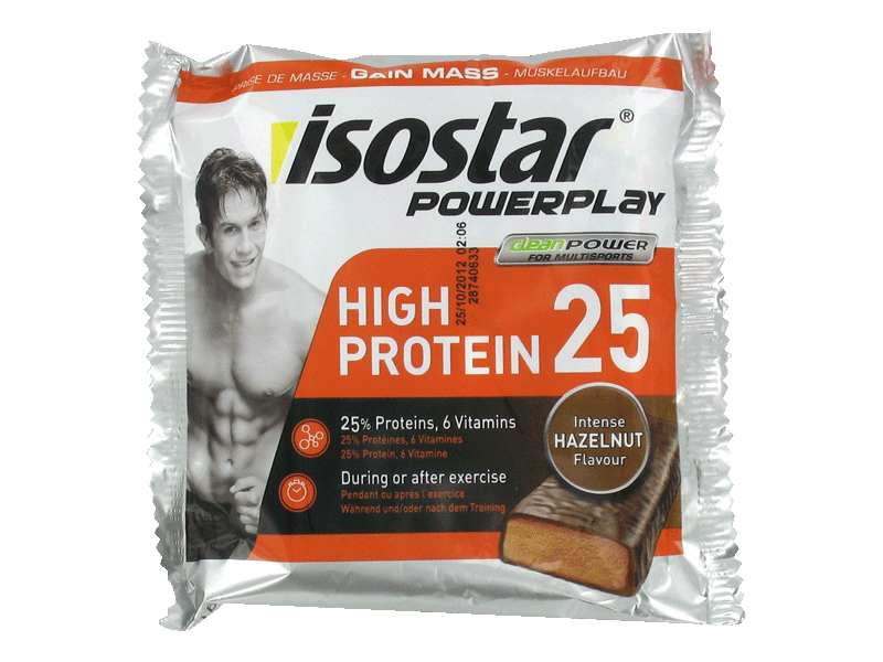 Isostar, Barres High Energy multifruits, le paquet de 3 - 60g