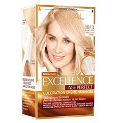 Excellence L'Oréal Paris Excellence Coloration Cheveux Matures & Très Blancs Age Perfect 10,13 Blond Très Très...