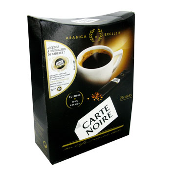 Cafe soluble pur arabica exclusif