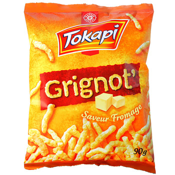 Biscuits Tokapi Grignot' Fromage 90g