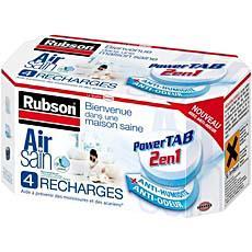 4 recharges air sain 2 en 1 pour absorbeur d 39 humidite rubson tous les produits d coration. Black Bedroom Furniture Sets. Home Design Ideas