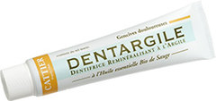 Cattier Dentifrice Dentargile Sauge 75 ml Lot de 2