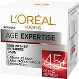 Soin anti-rides intensif jour 45 + âge expertise L'OREAL, 50ml