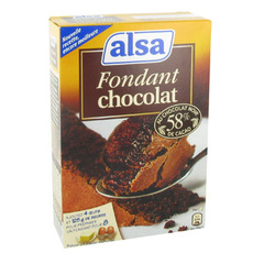 Alsa preparation fondant au chocolat 360g