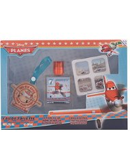 DISNEY Planes Set Coffret Cadeau Eau de Toilette 50 ml + Porte-Nom + Stickers