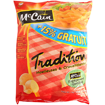 Frites tradition Mc Cain 1kg