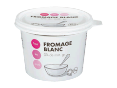 Fromage blanc (0% de MG)