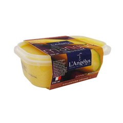 sorbet mangue l'angelys 250ml