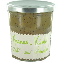 Selectionne par votre magasin, Preparation de fruits : ananas kiwi cuit au chaudron, le pot de 320 gr