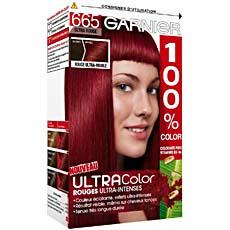coloration permanente ultra rouge 100 ultracolor n665 la boite de 120ml - Coloration Permanente
