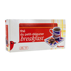 Auchan the breakfast sachet x100 - 237g