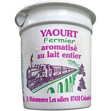 Yaourts aromatises DELICES DU BOIS MADAME, 4x125g
