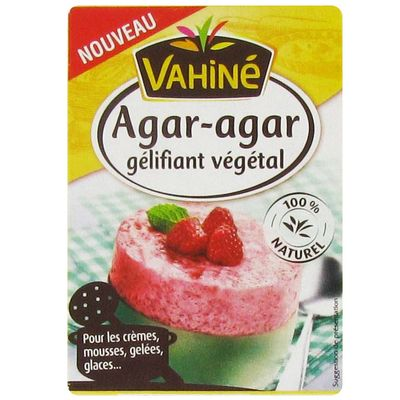 Agar-agar gelifiant vegetal 100% naturel