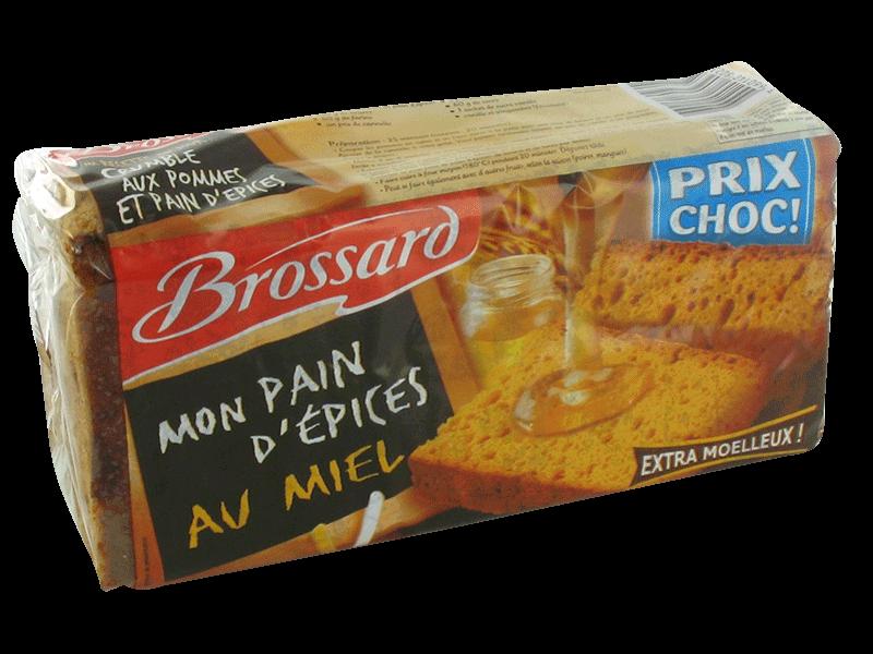 Brossard mon pain d 39 epices au miel 350g tous les produits biscuits g teaux prixing - Carbonate de sodium danger ...