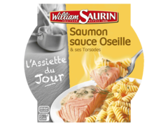 Pave de saumon sauce a l'oseille et pates WILLIAM SAURIN, 300g