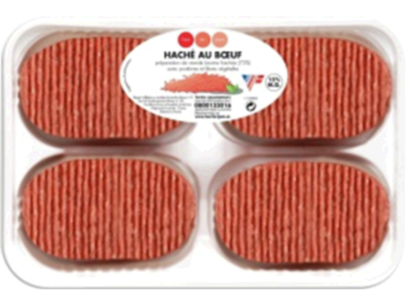Steaks haches 15%MG x4