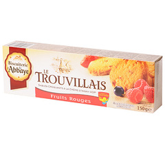 Biscuits le Trouvillais Fruits rouges etui