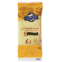 Fromage Gruyere AOC Nos regions ont du Talent 250g