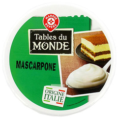 Mascarpone Tables du Monde 40%mg 500g