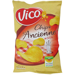 Chips a l'ancienne Vico Au sel fin 125g