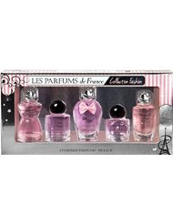 Charrier Parfums de France Collection Fashion Coffret de 5 Eau de Parfums Miniatures Total 49,7 ml
