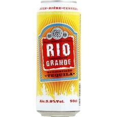 Biere aromatise Tequila RIO GRANDE, 5,9°, 50cl