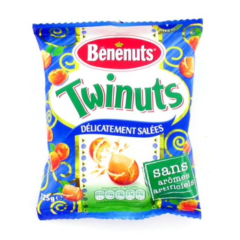 Cacahuetes enrobees gout sale TWINUTS, 125g