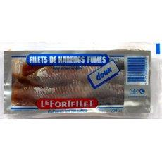 Filets de harengs fumes doux LEFORT, 200g