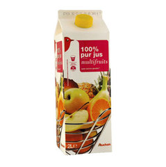 Jus multivitamine Pomme - Orange - Banane - Fruit de la Passion - Abricot - Ananas - Citron