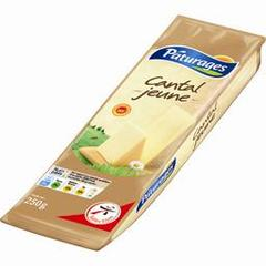 Paturages, Cantal jeune AOP, la portion de 250 g