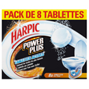 Harpic power plus tablette surpuissante x8