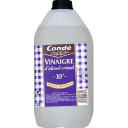 conde vinaigre d 39 alcool blanc le jerrican de 5l tous les produits vinaigres vinaigrettes. Black Bedroom Furniture Sets. Home Design Ideas