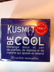 Thé Be Cool 20 sachets KUSMI TEA ,44g