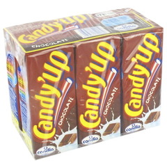Lait au chocolat Candy'up 6x20cl